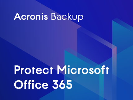Microsoft Office 365 with Acronis Cyber Backup